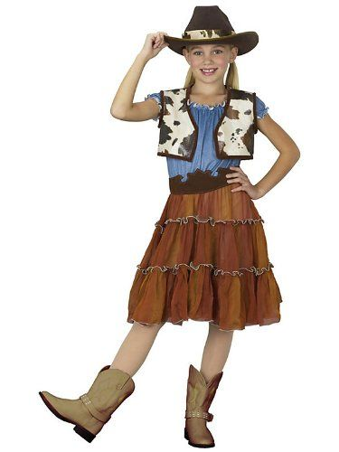 A Cowgirl Costume For Teens