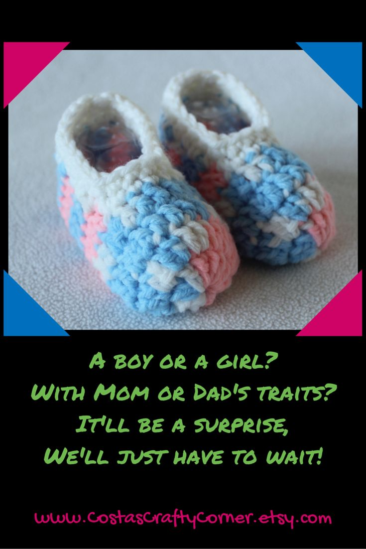 Perfect gift for a Gender Reveal party or parents-to-be who are not finding out the gender of their little one!