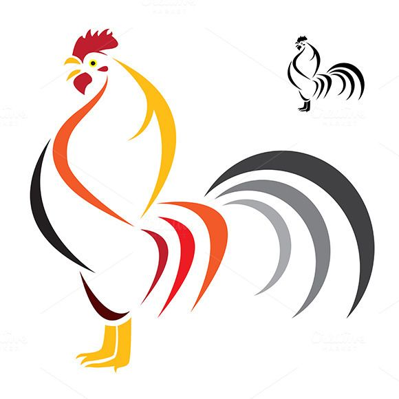 Vector image of an cock  by yod67 on @creativework247