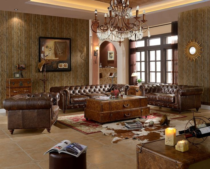 decorating with dark leather sofa song meaning chesterfield - brown 118 ...