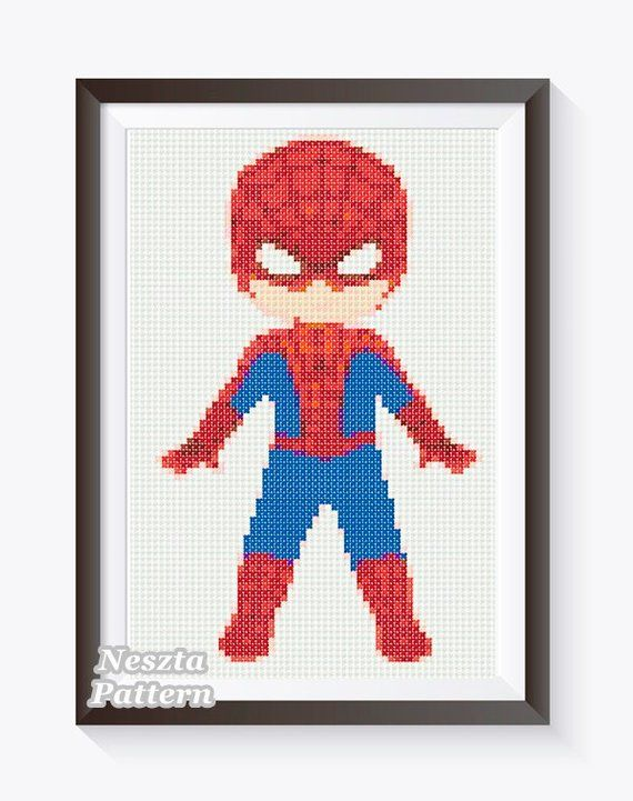 Cross Stitch Chart//Pattern//Design//XStitch Batman