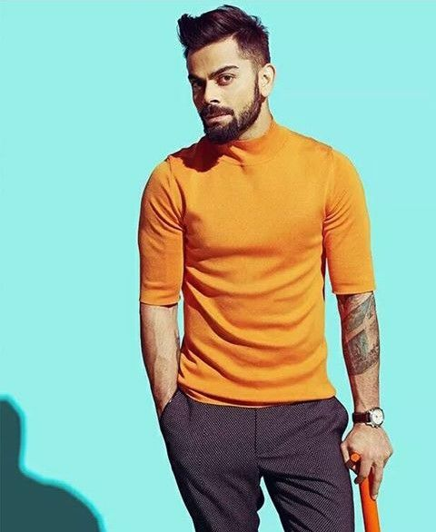 Heart Kohli. Without ever having seen a cricket match.