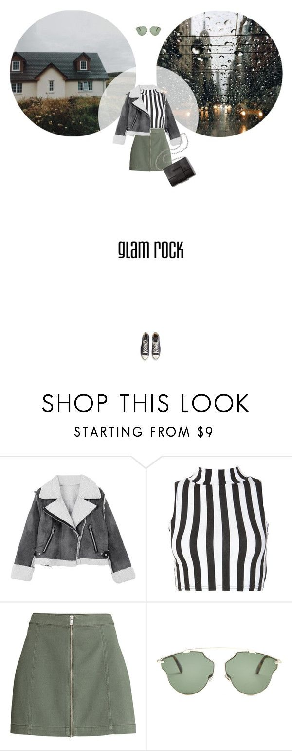 // 1324. Glam Rock. by lilymcenvy on Polyvore featuring Converse, Christian Dior and MM6 Maison Margiela