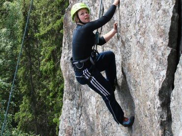 Bergsklättring i Åre