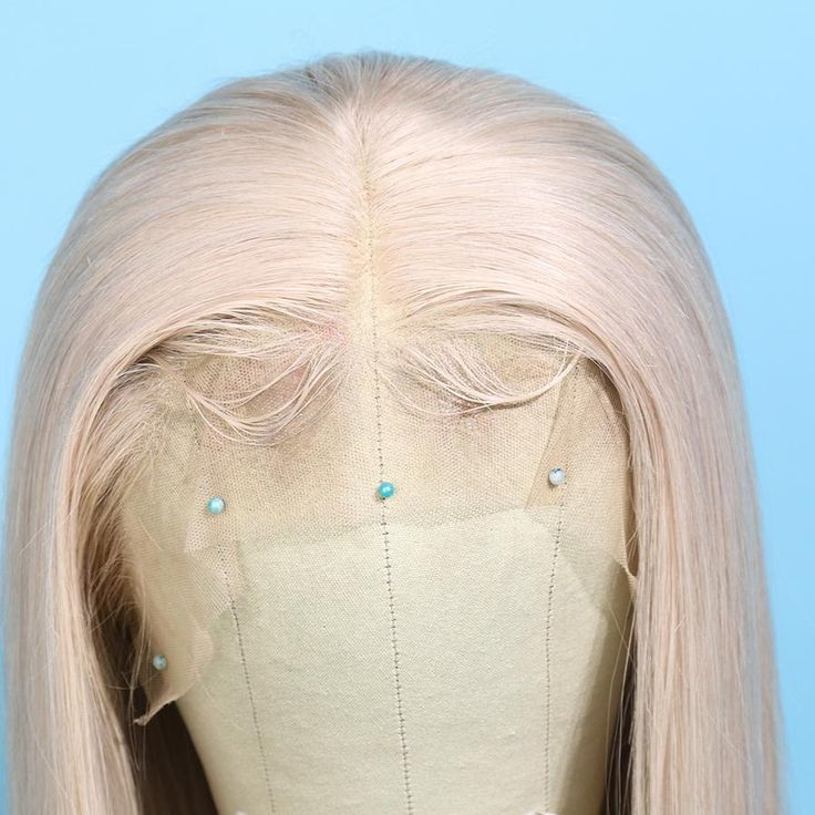 Preferred Human Light Gray Lace Front Wigs Long Straight Remy Hair for – preferredhair