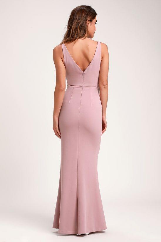 88438a44d6 Melora Dusty Rose Sleeveless Maxi Dress | Lulu's | Dresses ...