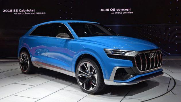 2018 Audi Q8 – Largest Audi SUV So Far
