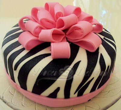 Little Girl Birthday Cake Idea
