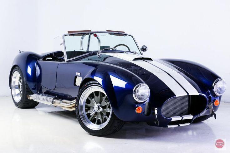 Backdraft Racing - Indigo Blue with White Stripes