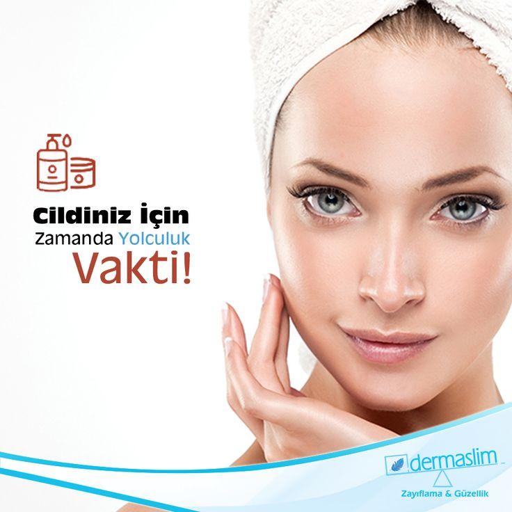 """Dermaslim'in """"yaşlanma erteleyici 60 dakikalık cilt bakımı""""nı siz de deneyin, cildinizi yılların etkisinden koruyun!"""