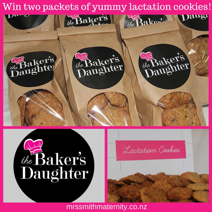 Enter to win: Win 2 packets of yummy lactation cookies from The Bakers Daughter!   http://www.dango.co.nz/s.php?u=NckOz3of3283