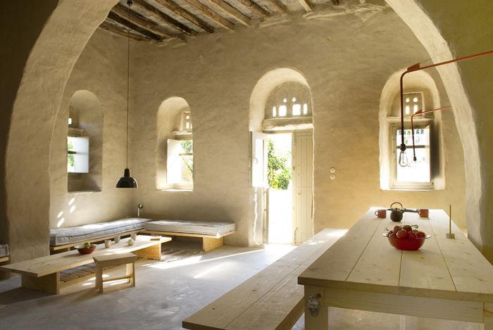 Traditional Cycladic architecture