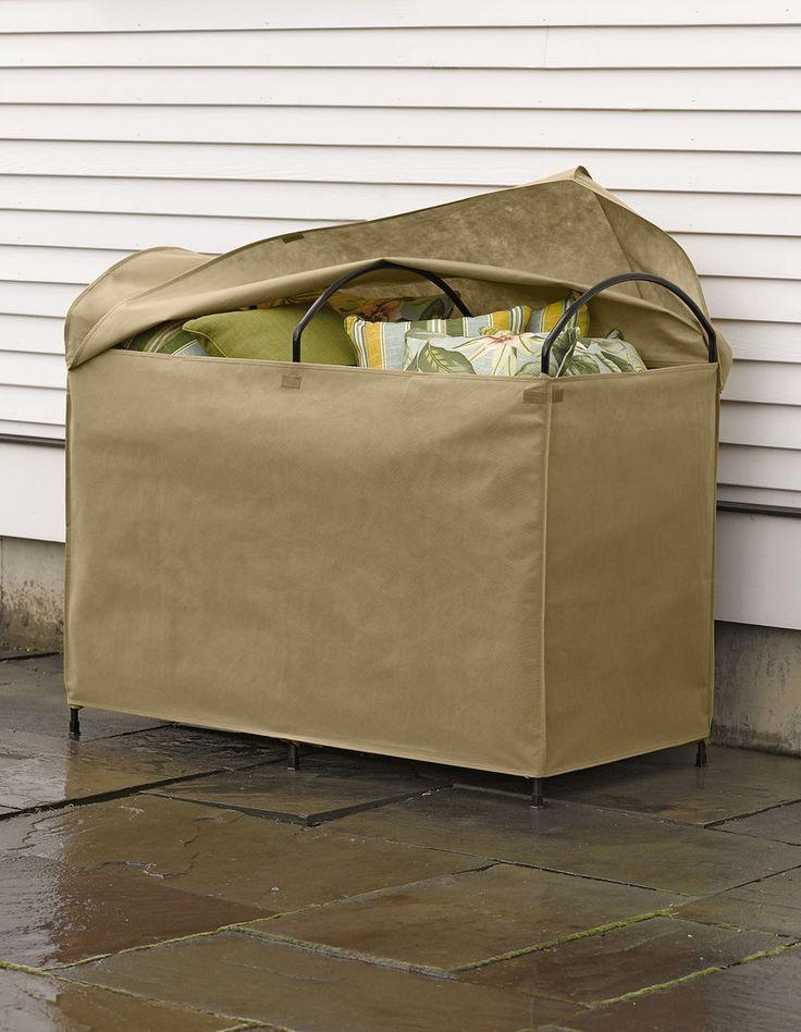 Cushion Storage Chest   Gardener's Supply