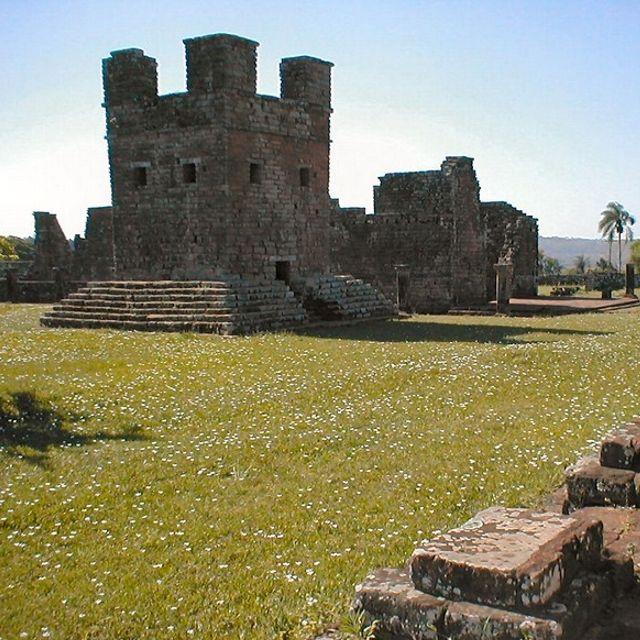 La Santísima Trinidad de Paraná è stata tra le ultime missioni fondate dai gesuiti, nel 1706 #Encarnacion #Paraguay