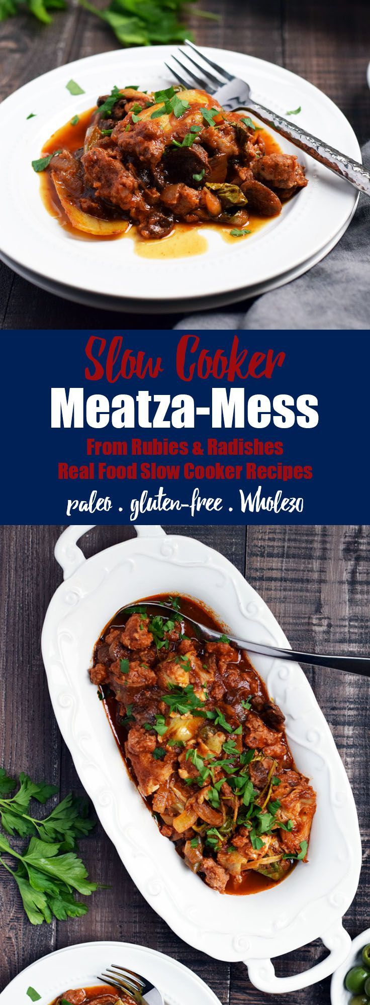 1206 best best of whole30 recipes images on pinterest whole30 slow cooker meatza mess real food slow cooker recipes ebook fandeluxe Document