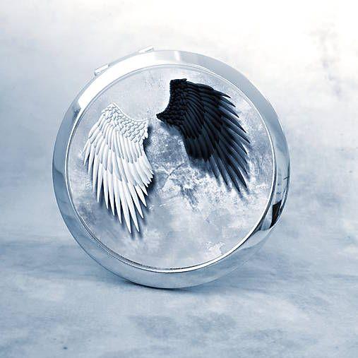 HelkaAndr / zrkadielko Anjelské krídla