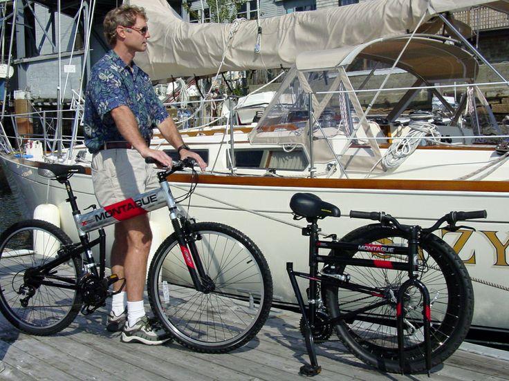 Велосипед легко складывается. Его можно взять с собой куда угодно.