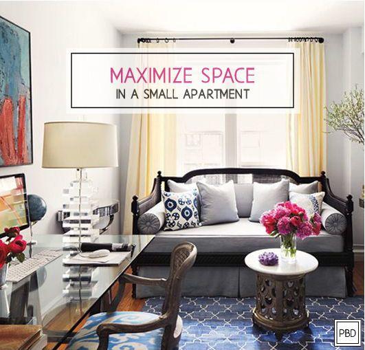 Best 25+ Small Apartment Living Ideas On Pinterest