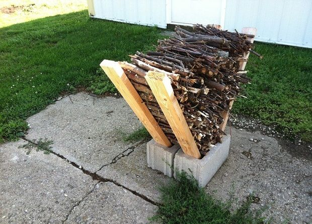 Practical and Simple Cinder Block Projects | Cinder block ... on Simple Cinder Block Fireplace id=85260