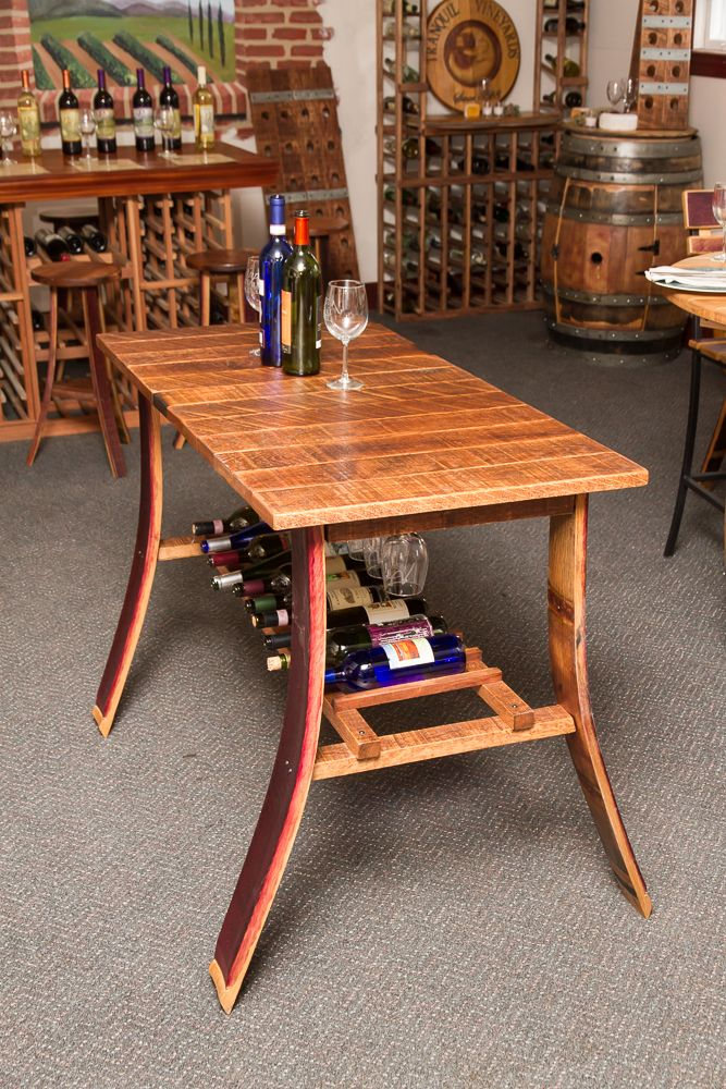 wine barrel ideas  â?? Shop Custom Wine Barrel Furniture â?? Tables and Sets â??
