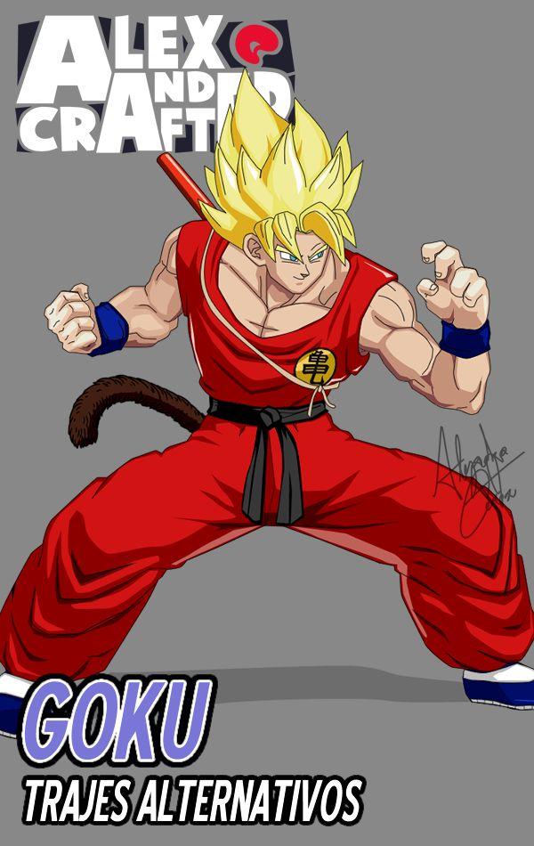 Goku  Trajes Alternativos  Dragon Ball FighterZ