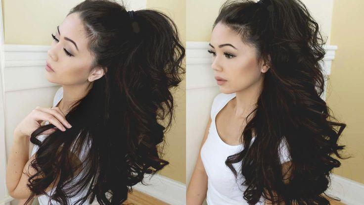 Curly Hair Tutorial • Big Voluminous Curls • LISA LORLES