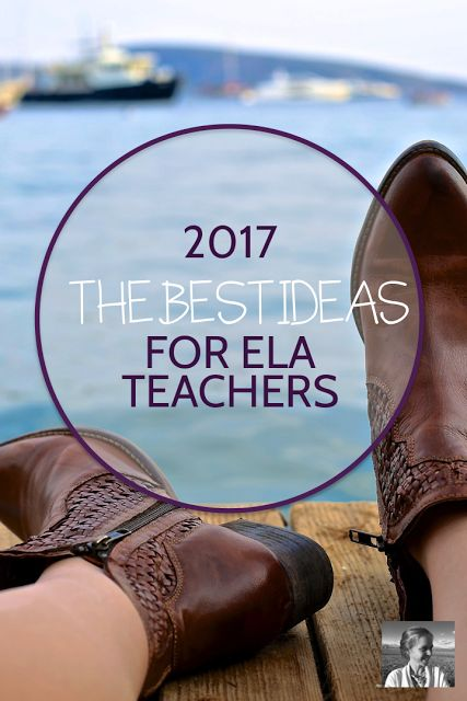 In this post and podcast, I'm sharing my highlights of 2017 in ELA. Here you'll find ten of the most interesting teaching strategies, resources, and websites that I've encountered this year. If you're looking for inspiration moving into 2018, English teachers, look no further.