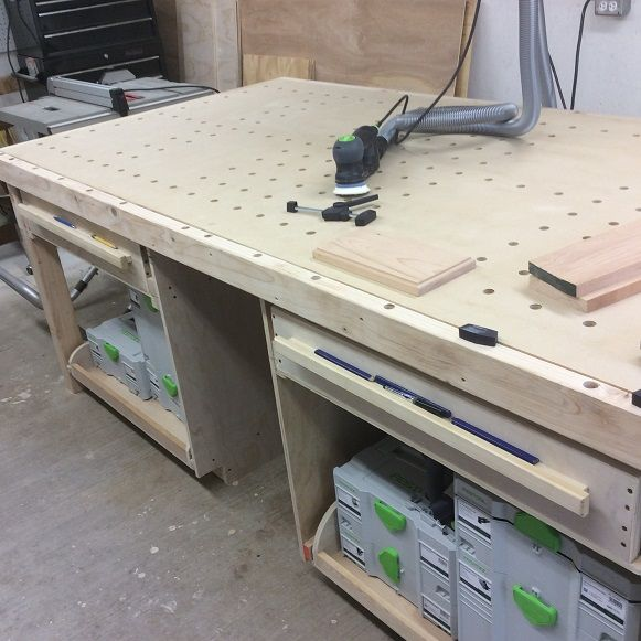 new workbench made with my new Festools