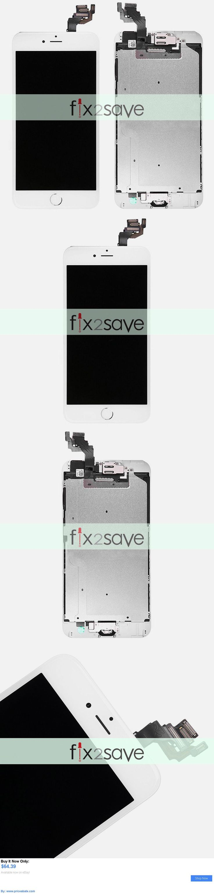 general for sale: White Lcd Touch Screen Digitizer Display Assembly Replacement Iphone 6 Plus 5.5 BUY IT NOW ONLY: $64.39 #priceabategeneralforsale OR #priceabate