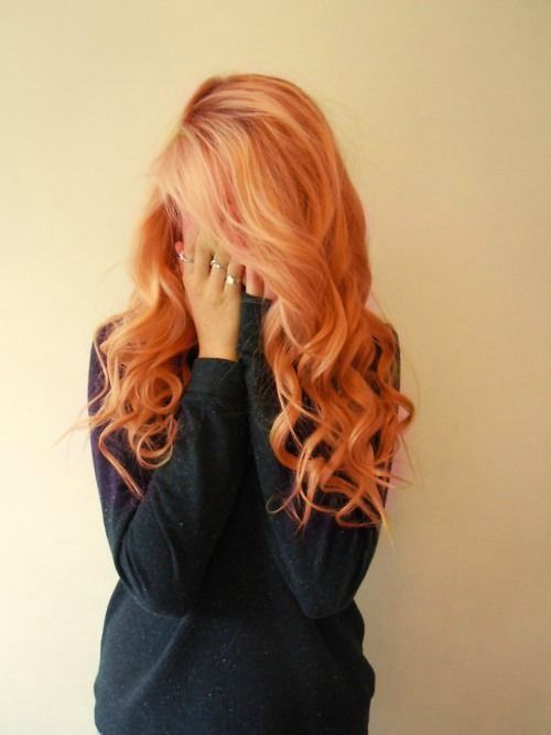 Strawberry blonde, is my natural and I hate it .-. I rather be a bottle blonde