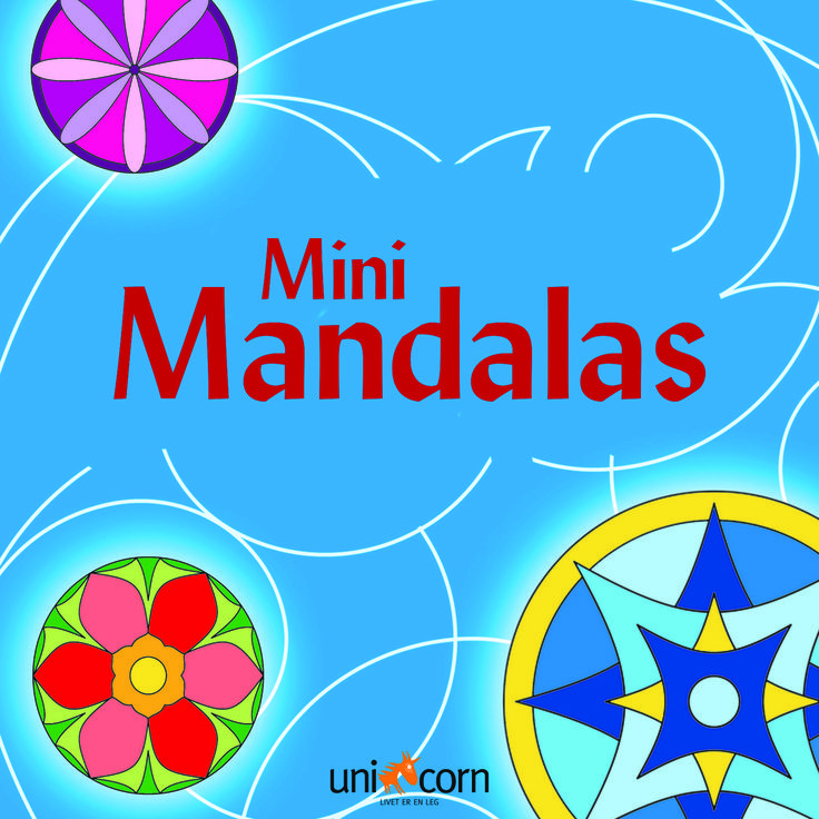Mini Mandalas BLÅ