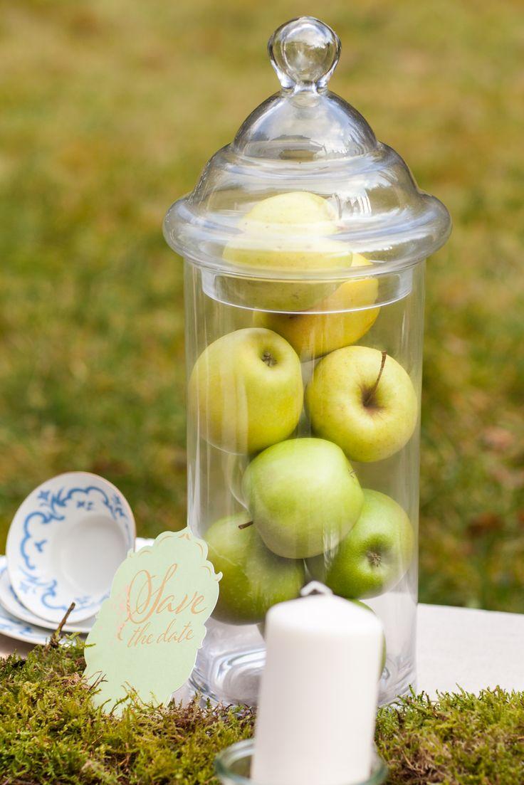 schones apfel deko garten frisch Abbild und Abaebbdccadce Apfel Save The Date Jpg