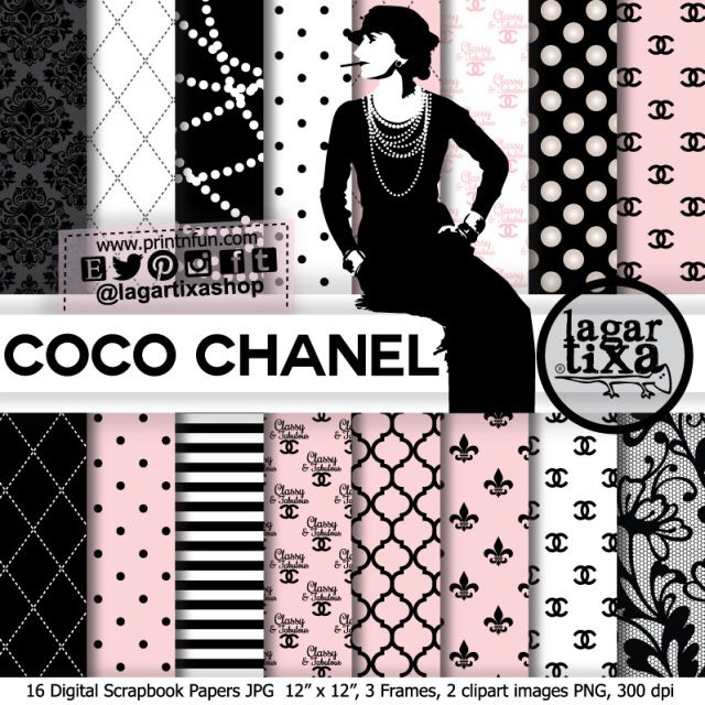 144 Best Coco Chanel Themed Birthday Party Images On
