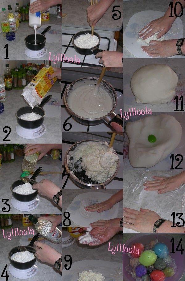 La recette de la porcelaine froide (PAM)