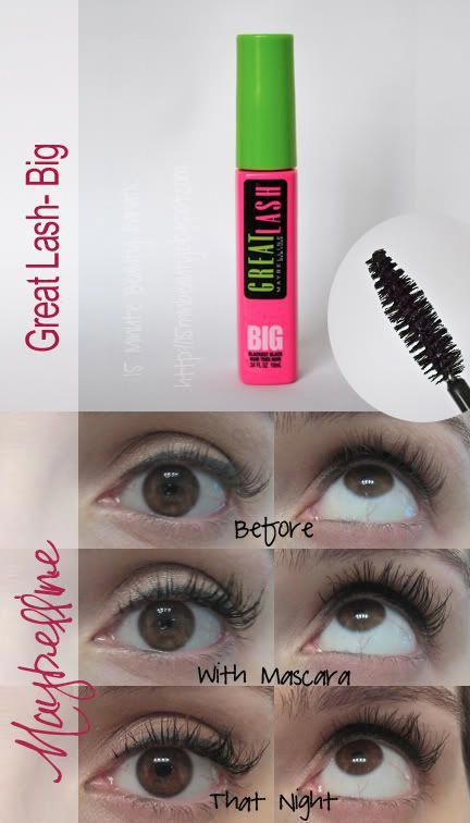643579947f8 Maybelline Great Lash, Big Lashes, Review #Lashes | Lashes | Big ...