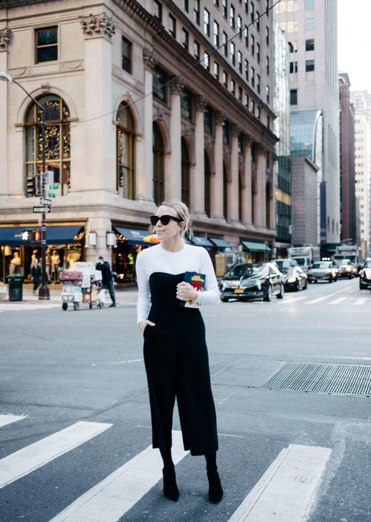 Damsel in Dior   Club Monaco Jumper {$289} // Zara Boots {similar pair here} // Club Monaco White Tulsie Ribbed Sweater {$249} // Olympia Le Tan 'Alice in Wonderland' Book Clutch {$1,613}