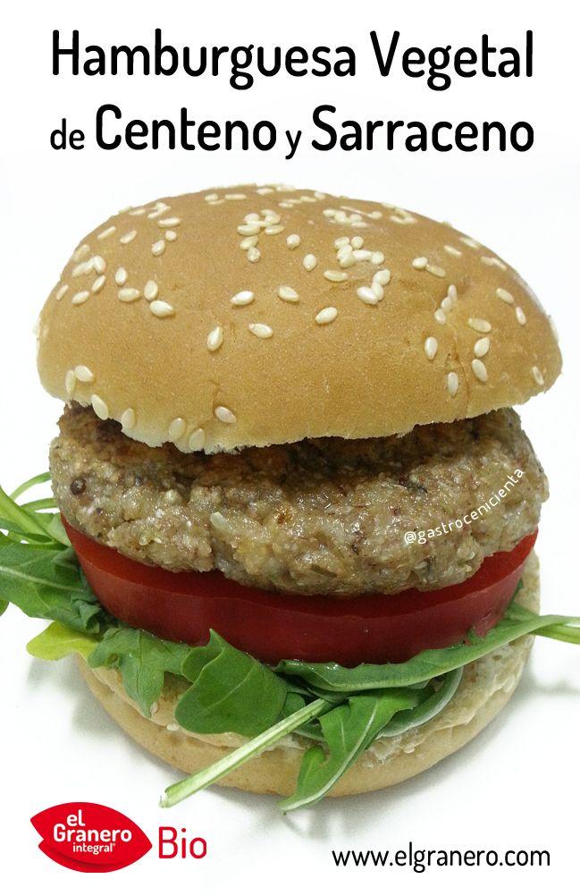 RECETA DE HAMBURGUESA DE CENTENO Y TRIGO SARRACENO. Una receta que siempre triunfa, incluso entre las personas que suelen comer carne. Nuestra hamburguesa es 100% vegetal, sin huevo y sin leche. Apta para vegetarianos y veganos. Un plato sano y a la vez divertido. Pulsa en la imagen para ir a la receta. #organic #organicrecipes #vegan #veganrecipes #eggfree #eggfreerecipes #dairyfree #dairyfreerecipes #elgranerointegral #glutenfree #glutenfreerecipes