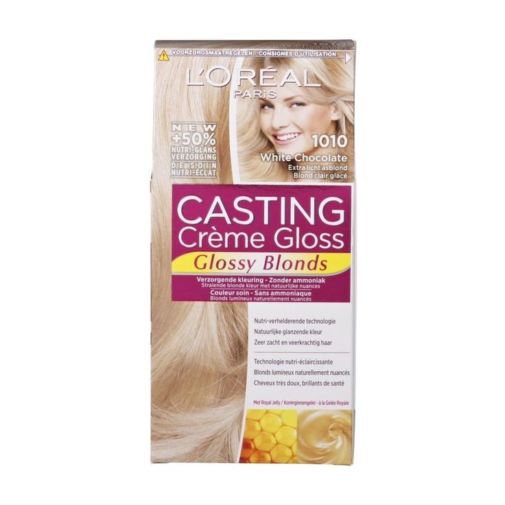L'Oréal Paris Casting Crème Gloss 1010 Extra Licht Asblond Haarkleuring   Kruidvat