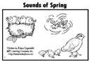 "Spring Emergent Reader ""Sounds of Spring"""