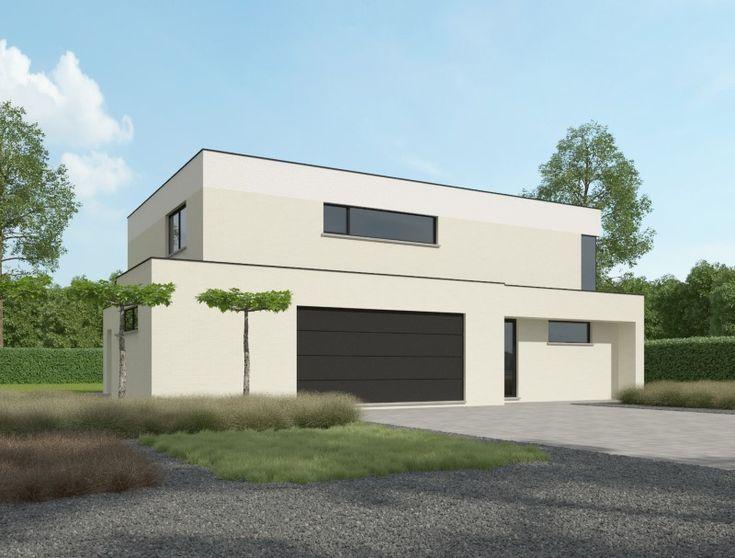 Ontdek onze woningen metstrak ontwerp in minimalistische stijl | Bouwbedrijf Stessens