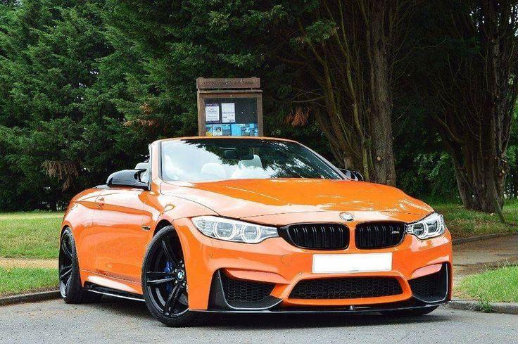 BMW F83 M4 cabrio orange