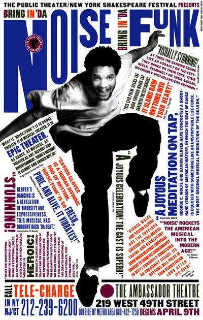 Paula Scher / New York Theatre Poster