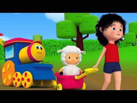 Bob, kereta api | bob hewan melatih untuk anak-anak | belajar hewan - YouTube