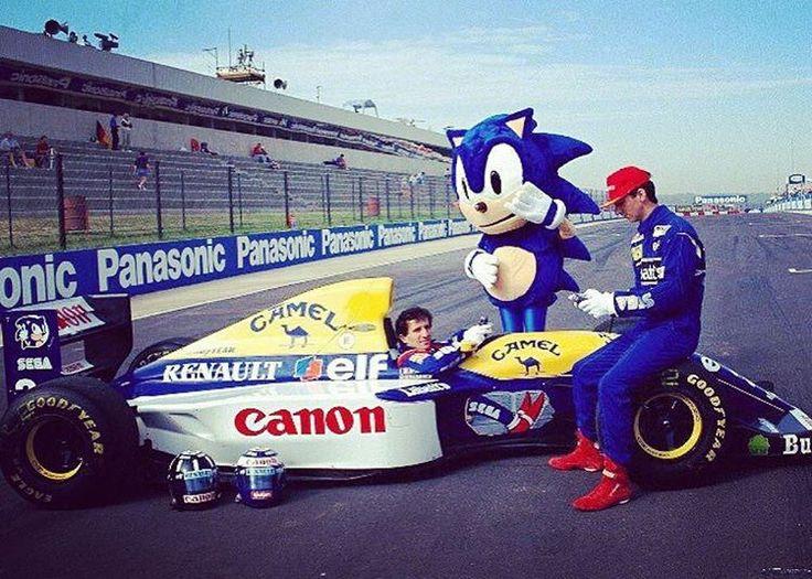 https://flic.kr/p/GBBkus | Alain Prost and Damon Hill 1993 #f1 #williams
