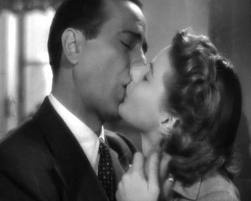 0d9896632c49 The Casablanca Kiss,Humphrey Bogart and Ingrid Bergman. | Classic Movie  Kisses | Movie kisses, Romantic movies, Classic movies
