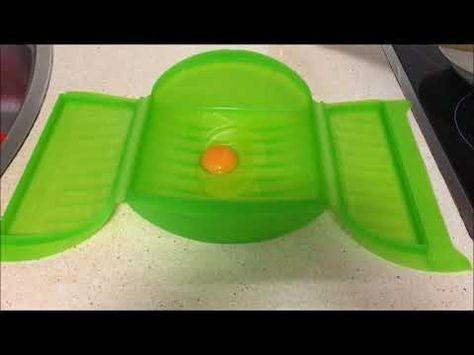 Huevo frito en estuche de vapor Lekue - YouTube