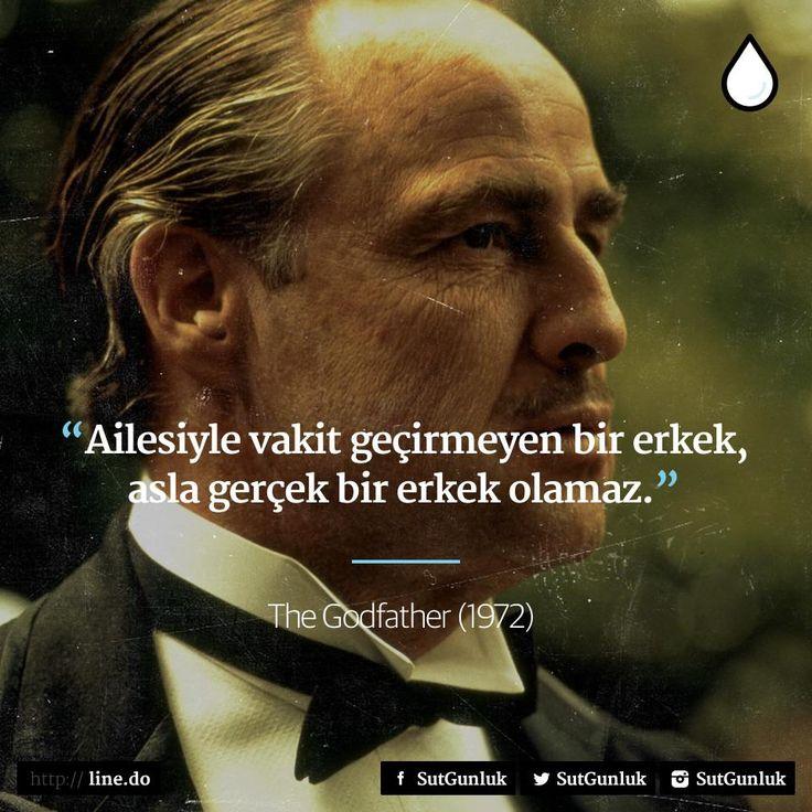 Ailesiyle vakit geçirmeyen bir erkek, asla gerçek bir erkek olamaz. - The Godfather #sözler #anlamlısözler #güzelsözler #manalısözler #özlüsözler #alıntı #alıntılar #alıntıdır #alıntısözler #film #filmsözleri #filmalıntıları