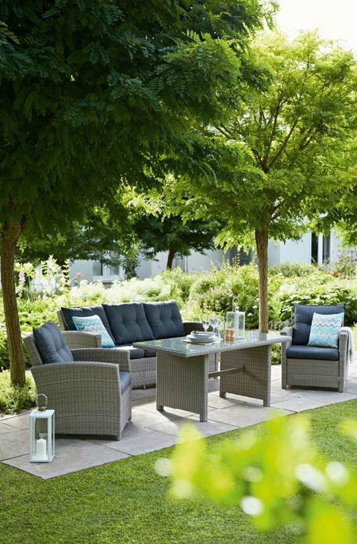 Garden Furniture Rattan best 25+ rattan effect garden furniture ideas on pinterest | cheap