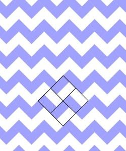 Pretty child's quilt.....Chevron Rail Fence ~ Chevron Quilts ~ How many ways? Marjorie's Quilting Bee
