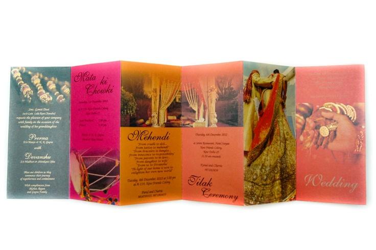 Piano Indian Wedding Card